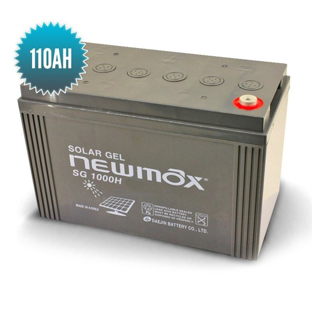 Batterie Gel Newmax 110 Ah