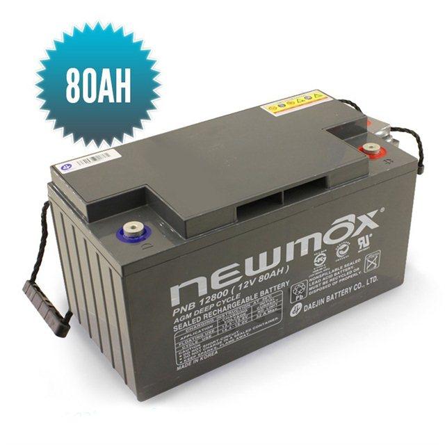 Batterie 80 Ah AGM Newmax