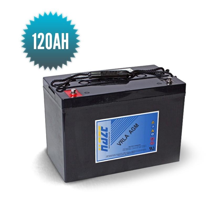 AGM HAZE 12 V 120 Ah marine battery