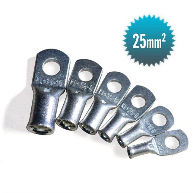 25 mm² tubular lug for flexible cable
