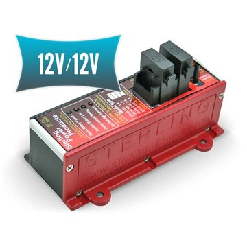 Auxiliary battery charger 12V/12V