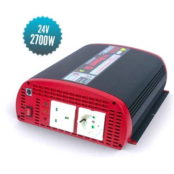 Near-sine converter 24 V 2700 W