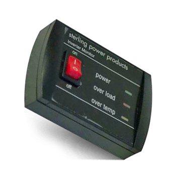 Control panel for pure sinus converter