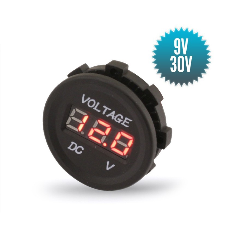 Digital voltmeter (9 to 30V)