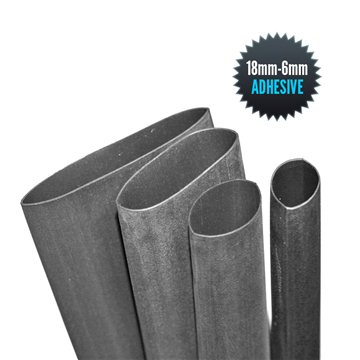 Thermo adhesive sheath 18mm/6mm