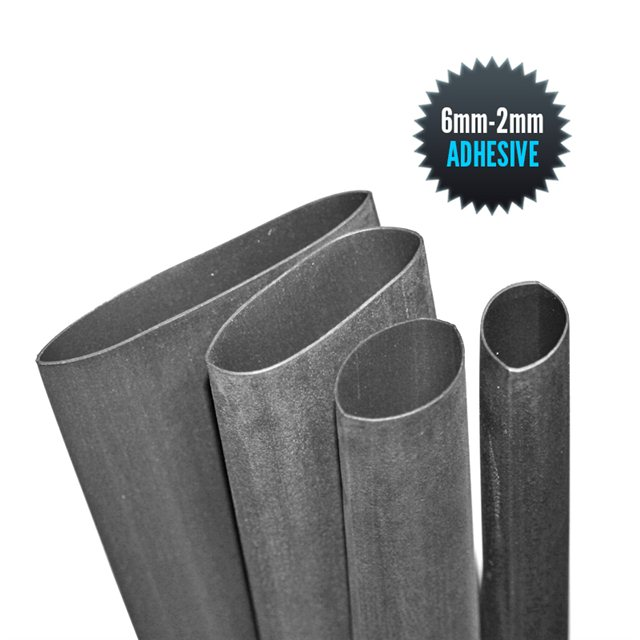 Thermo adhesive sheath 6mm/2mm