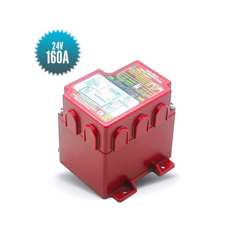 Voltage threshold relay 24V 160A