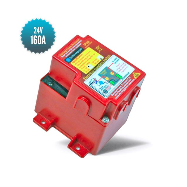 24v 160A remote controlled circuit breaker