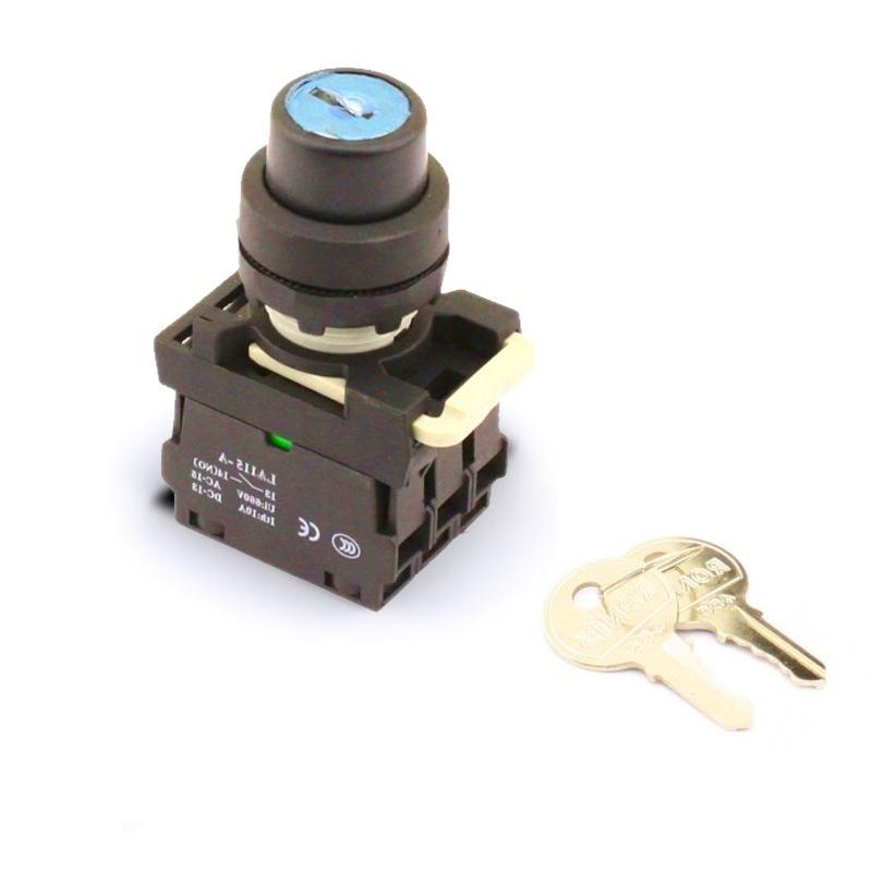 Interrupteur à clé pour Coupe Circuit commandé à distance