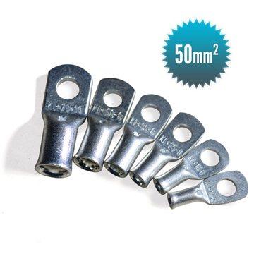 50 mm² tubular lug for flexible cable