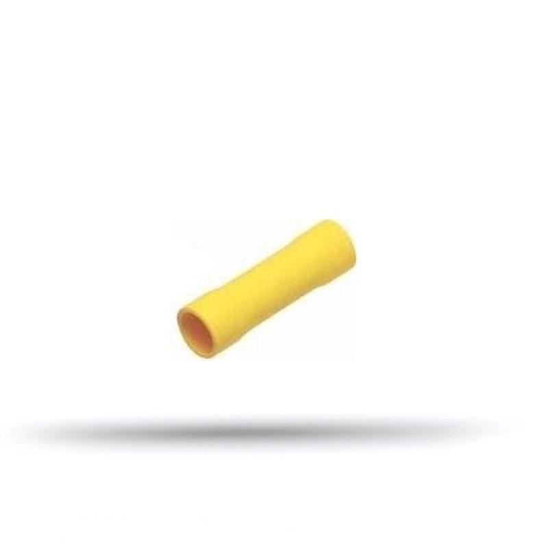 20 manchons pré-isolés jaunes 4 à 6 mm²