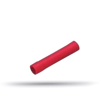 20 pre-insulated red sleeves cable 0.5 to 1 mm²