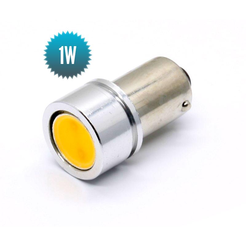 Ampoule Axiale BA9S 8-30Vdc 1W (7W) 3000K 20lm