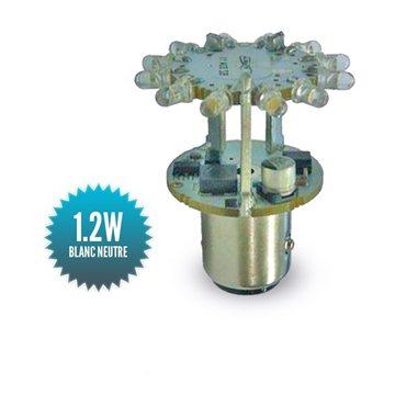 Ampoule Navigation Mantagua à leds 2MN COLREG - BA15S
