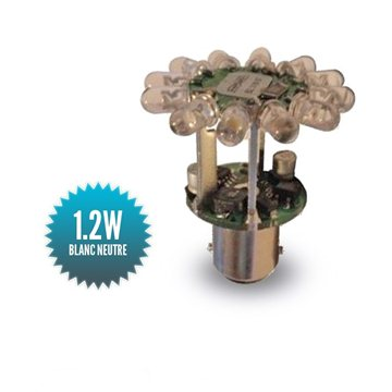 Mantagua Navigation Bulb with LEDs 2MN COLREG - BAY15D