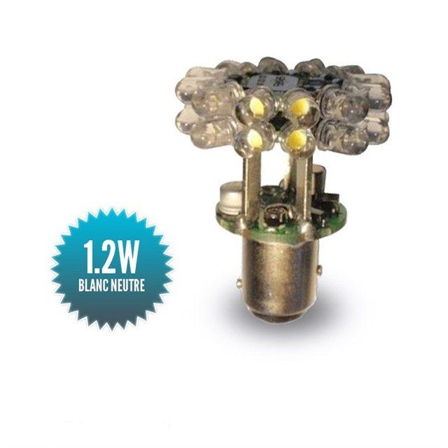 Ampoule Navigation Mantagua à leds 3MN COLREG - BAY15D
