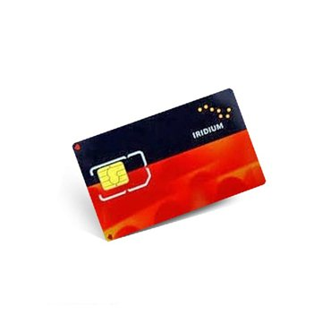 Prepaid Iridium SIM card