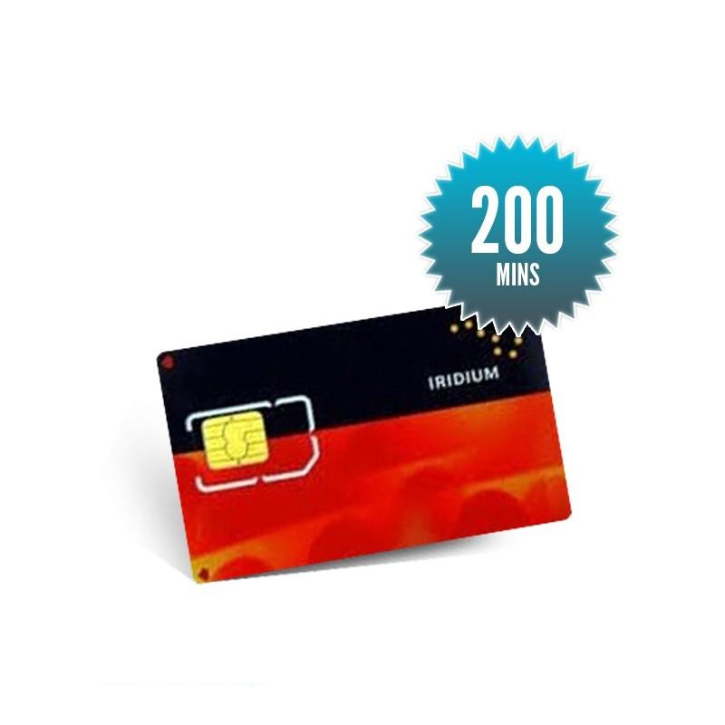 200mins - 6 mois SKYFILE Recharge Iridium