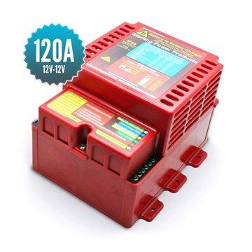 Chargeur de batterie à batterie 12V - 12V / 120A