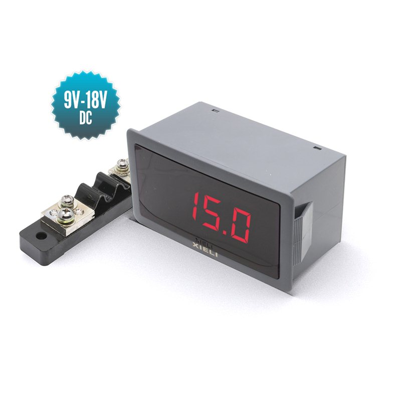 Professional digital ammeter -50 to +50A