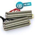 Kit de câblage pré-câblé pour tableau bipolaire 8 disjoncteurs