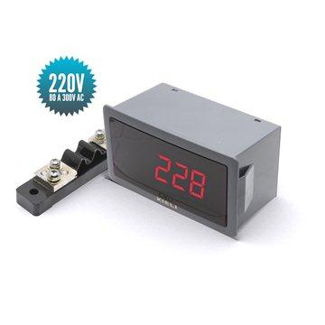 Voltmètre numérique professionnel pour courant alternatif 80 à 300V AC