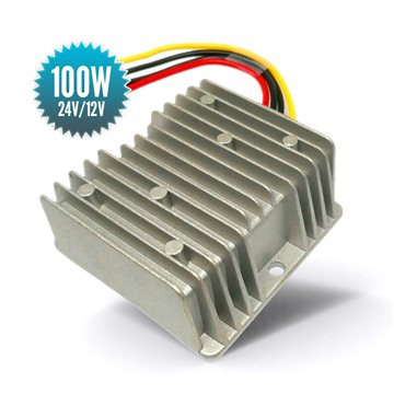 Abaisseur de tension non-isolé 24V / 12V - 100W