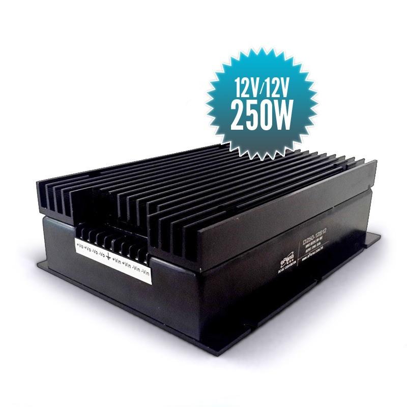 Stabilisateur de tension isolé 12V / 12V - 250W