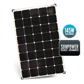SUNPOWER 145W Rigid Panel (old 135W)
