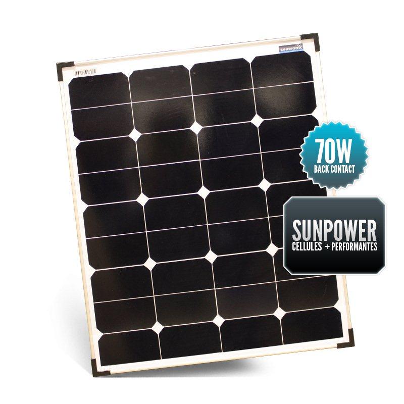SUNPOWER 70W Solid Panel