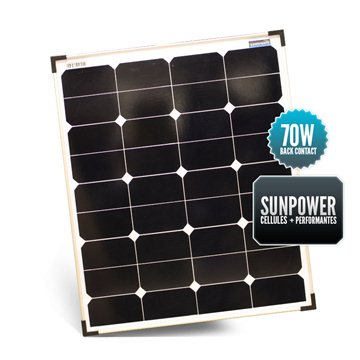 SUNPOWER 70W Solid Panel