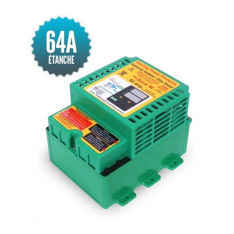 Waterproof galvanic isolator 64A