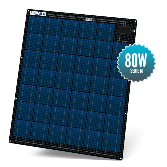 Panneau solaire 80W semi rigide Solara série M
