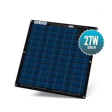 Panneau solaire 27W semi rigide Solara série M