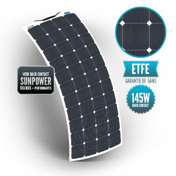 SUNPOWER 145W ETFE Flexible Panel