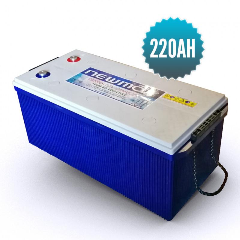 Newmax Gel Battery 220 Ah