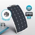 Panneau Sunpower flexible ETFE 115 W avec la fixation Tenaxx pour le bimini