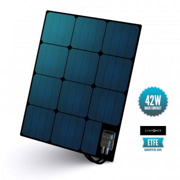 Semi-flexible deck panel ETFE Sunpower 42 W