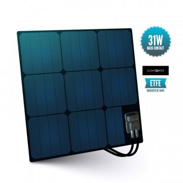 Semi-flexible deck panel ETFE Sunpower 31 W