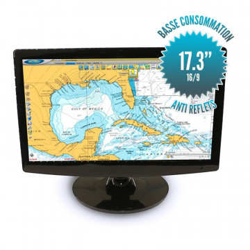 "17""3 inch led screen -12 Volts - Format 16/9"