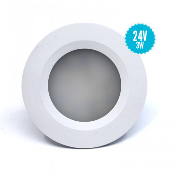 Spots encastrable à LED 3W (24V)