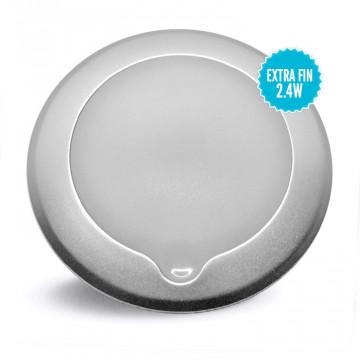 Plafonnier à LED extra fin en saillie avec bouton tactile