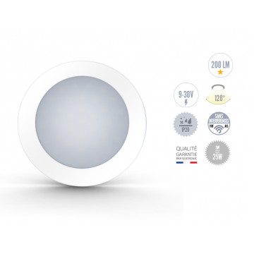 Spots Blanc à LED 3W sans interrupteur