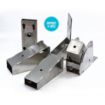 Supports différents angles pour différentes jupes Hydrogénérateur Seatronic S600