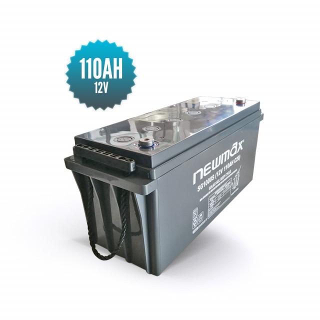 Batterie Gel Newmax 12V / 110 AH