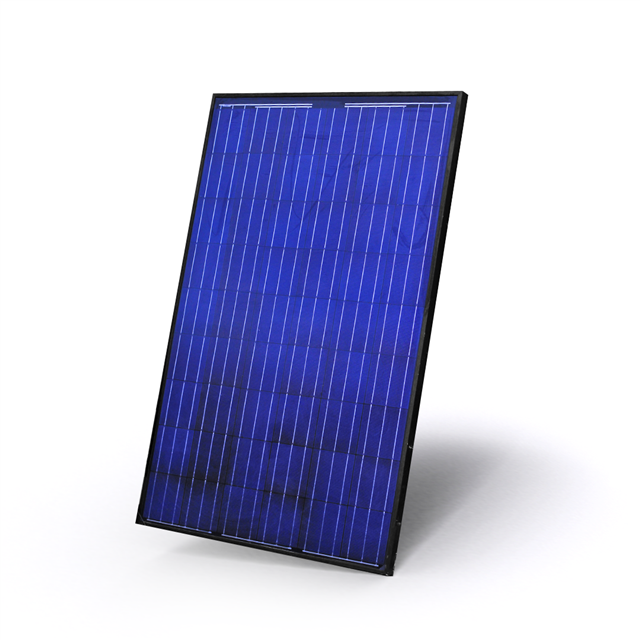 Solara 215 W rigid solar panel (end of series)
