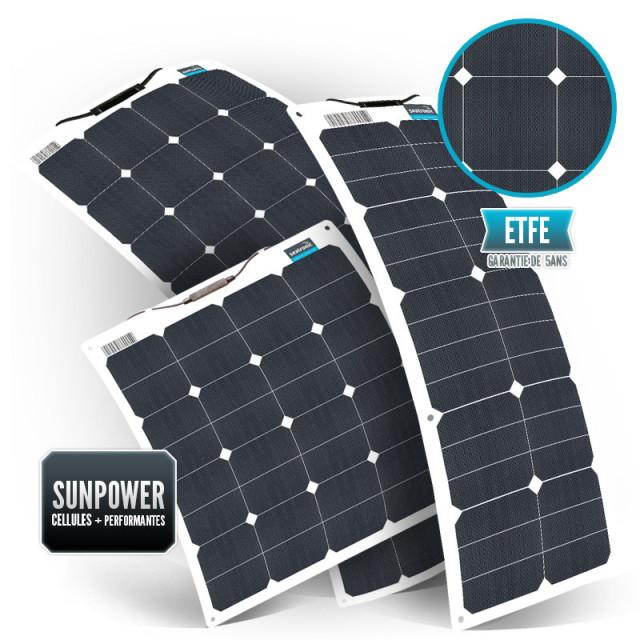 SUNPOWER Flexible ETFE Back Contact Solar panel Seatronic