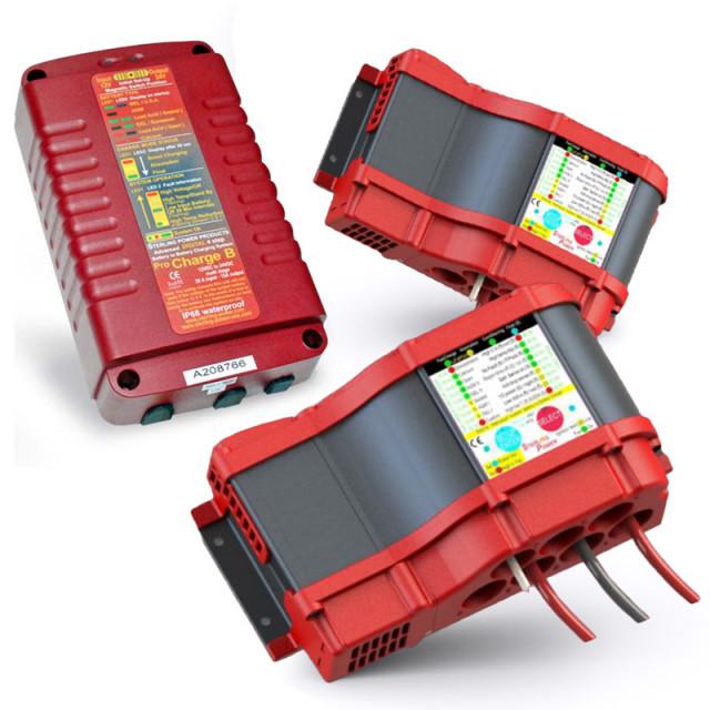Chargeur de batterie à batterie: Gamme étanche
