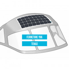 FLEXIBLE SEATRONIC'S SUNPOWER SOLAR PANELS FOR BIMINI