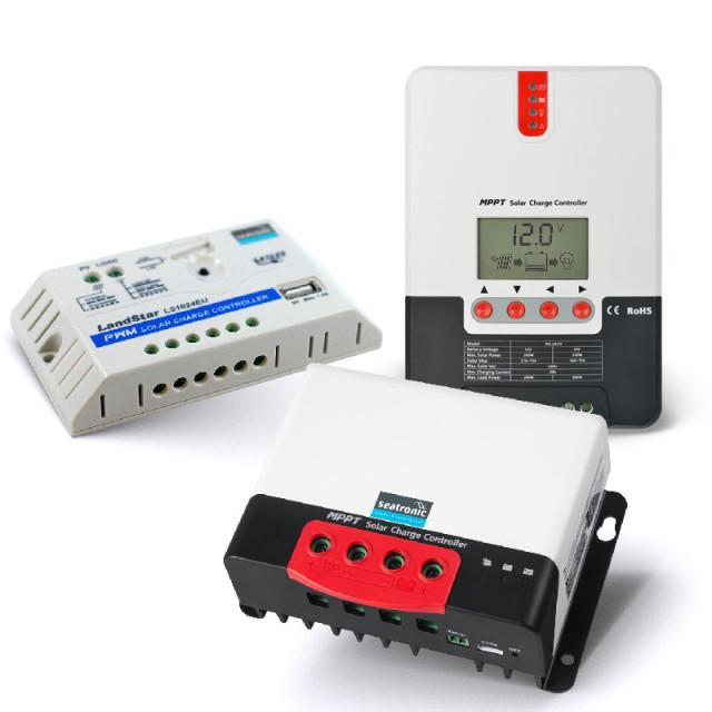 Régulateur solaire et moniteur